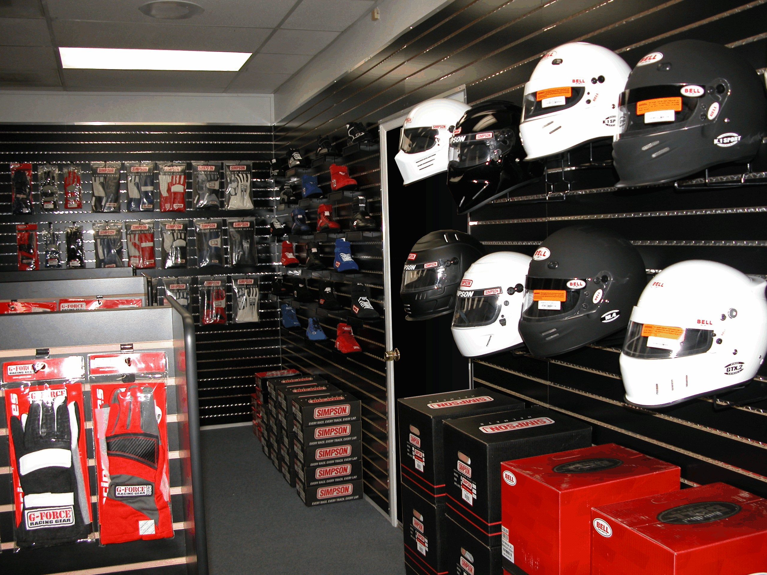 Pit Stop USA Retail Showroom