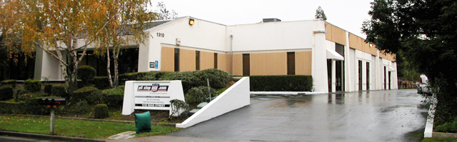 Pit Stop USA Corporate Offices and Warehouse in Petaluma, California