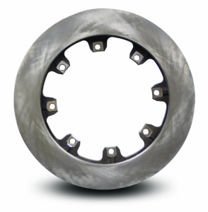 AFCO Racing Brake Rotors - AFCO Curved 32 Vane Lightweight Rotors