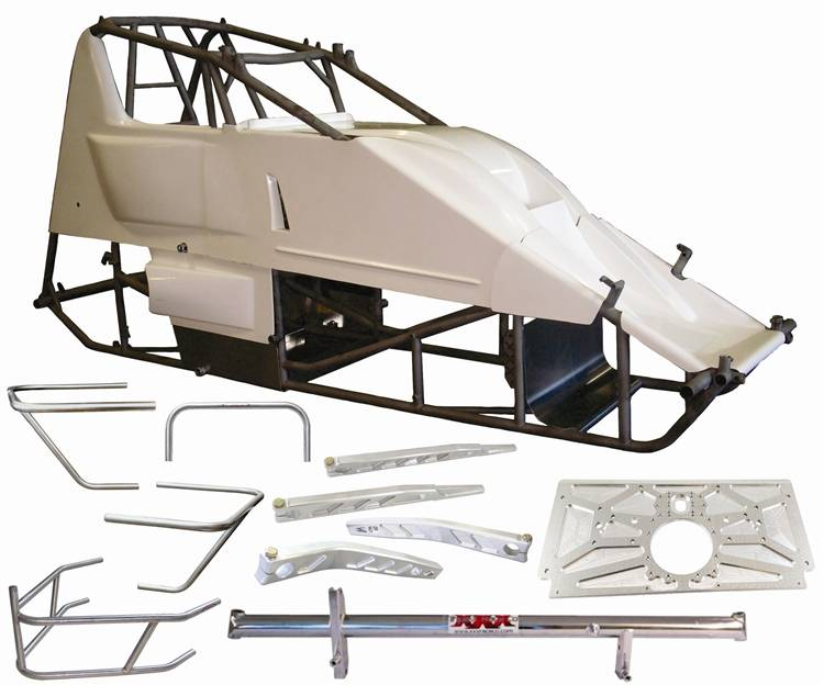 triple x sprint car x wedge chassis racer kit 87 sc. Black Bedroom Furniture Sets. Home Design Ideas