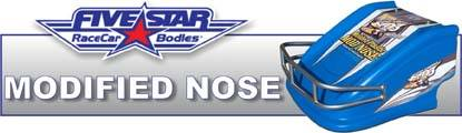 Five Star MD3 Modified Nose is a universal fit for most modified applications!