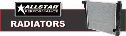 Allstar Performance Plastic Tank Radiators are 22% lighter and provide 6% better cooling!