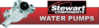 Stewart Stage 4 Water Pumps flow up to 41% more water at twice the pressure while consuming less horsepower.