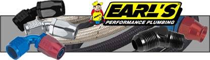 Earl's offers the most complete line of hoses, fittings and adapters available.