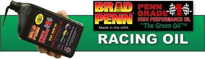 "Brad Penn's Penn Grade 1 High Performance Oils,  ""The Green Oil"" offers outstanding performance!"