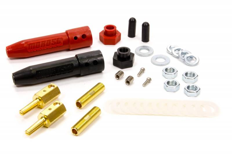 Quick Connect Battery Cable Connectors : Moroso quick disconnect battery cable kit
