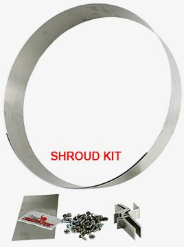 Northern hurricane engine driven fan shroud fits 31 x 19 z40023 your selected product sciox Choice Image