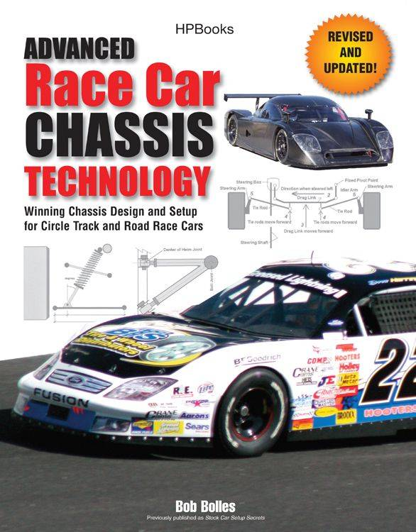Advanced Race Car Chassis Technology Book : 978-155788562-3