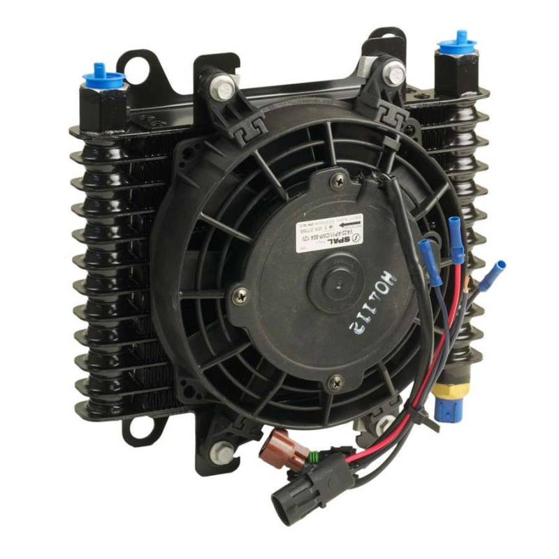 B Amp M Hi Tech Transmission Cooler W Electric Fan 70298