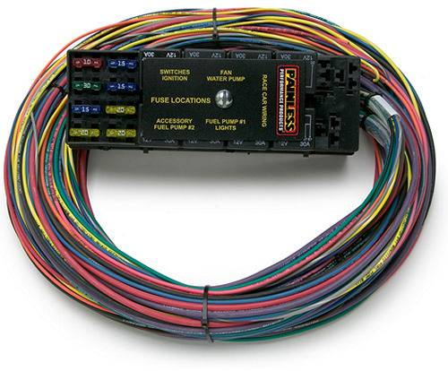 painless wiring harness and chassis painless performance race only chassis harness 10 circuits 50001  painless performance race only chassis