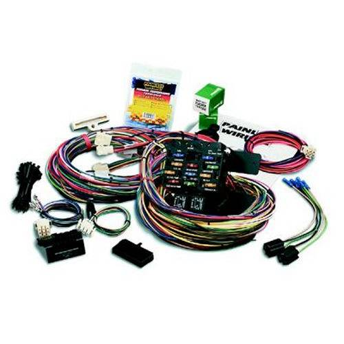painless performance pro chassis harness 21 circuits 50002