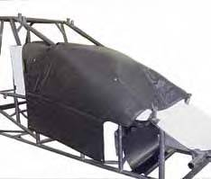 Sprint Car Body Accessories - Sprint Car Thermal Hood Blankets