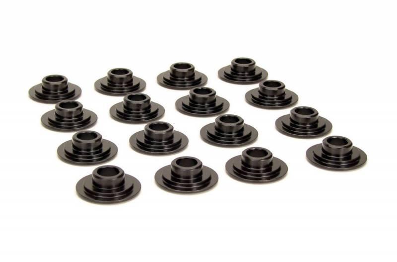 Steel Valve Spring Retainers Set//16 11//32 Stem 10 Degree 1.550 In