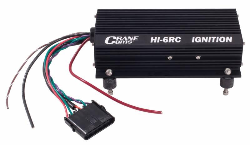 Crane Cams HI-6RC Digital Ignition Box : 6000-6700 on crane distributor wiring diagram, basic ignition system diagram, crane motor wiring diagram,