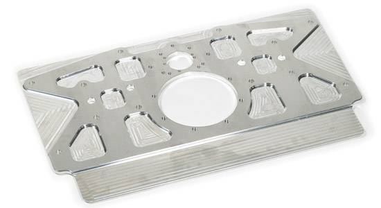 Dmi aluminum rear motor plate lightened src 2840 for Motor vehicle inspection flemington nj