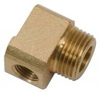 Pipe Thread to Pipe Thread Adapters - 90° Male to Female Pipe Thread Reducers