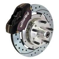Front Brake Kits - Drag - Wilwood Forged Dynalite Big Brake Front Hub Kits