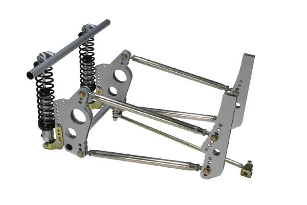 how to build a 4 link rear suspension