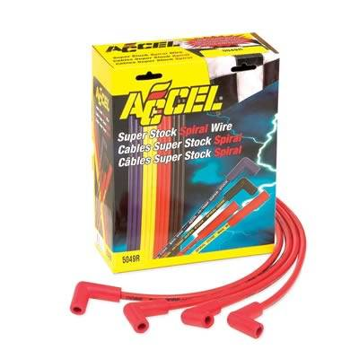 on accel electronic ignition, accel u-groove, 9018 plug wires, accel header plugs, spiral core wires, accel fuel injectors, accel ceramic plug wires, accel throttle body, custom plug wires, accel ignition systems,