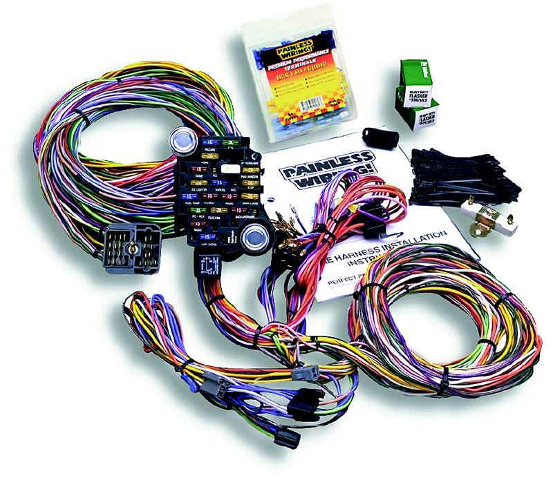 Fantastic Painless Performance 18 Circuit 1967 72 Gmc Chevy Truck Harnesses Wiring Digital Resources Counpmognl