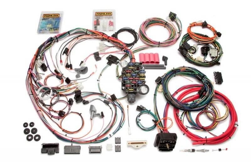 painless performance 18 circuit 1970 73 camaro harnesses 20112 rh pitstopusa com Painless Wiring Harness Chevy Truck painless wiring harness for 69 camaro