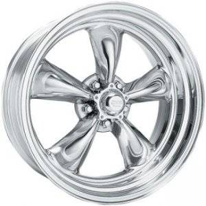 American Racing Wheels - American Racing VN515 Polished Torq-Thrust II 1-Piece Wheels