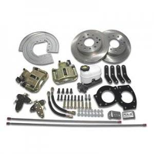 Front Brake Kits - Street - SSBC Drum to Disc Brake Conversion Kits