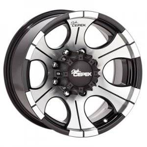 Wheels - Street / Strip - Dick Cepek Black DC-2 Wheels