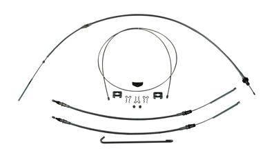I 23925302 Right Stuff Detailing Brake Cable Set W Hardwa Re 68 69 Camaro Stainles