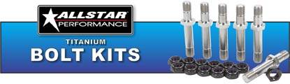 Allstar Performance Titanium Bolt Kits