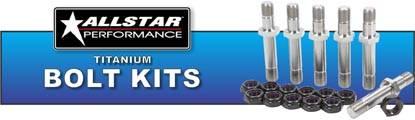 Allstar Performance Titanium Bolt Kits