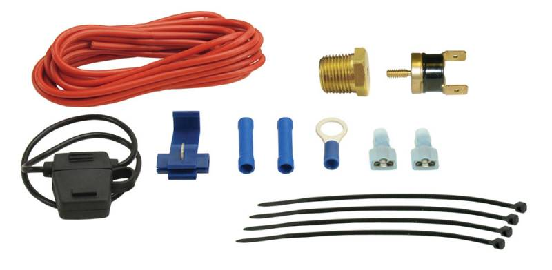 SINGLE STAGE 180/'F ON 165/'F OFF FAN THERMOSTAT WIRING PUSH-IN RADIATOR FIN PROBE