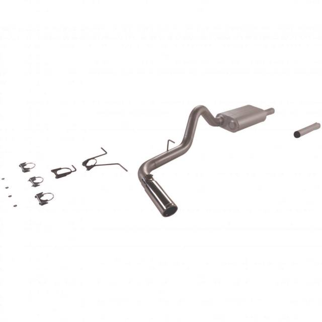 Flowmaster Force Ii Single Exhaust System 200003 Dodge Dakota 47l: Dodge Dakota Exhaust System At Woreks.co