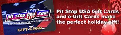 Pit Stop USA Gift Cards are the perfect gift