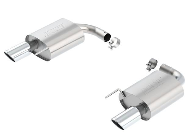 Borla Performance Industries S-Type Exhaust System Axle Back 2-1/2