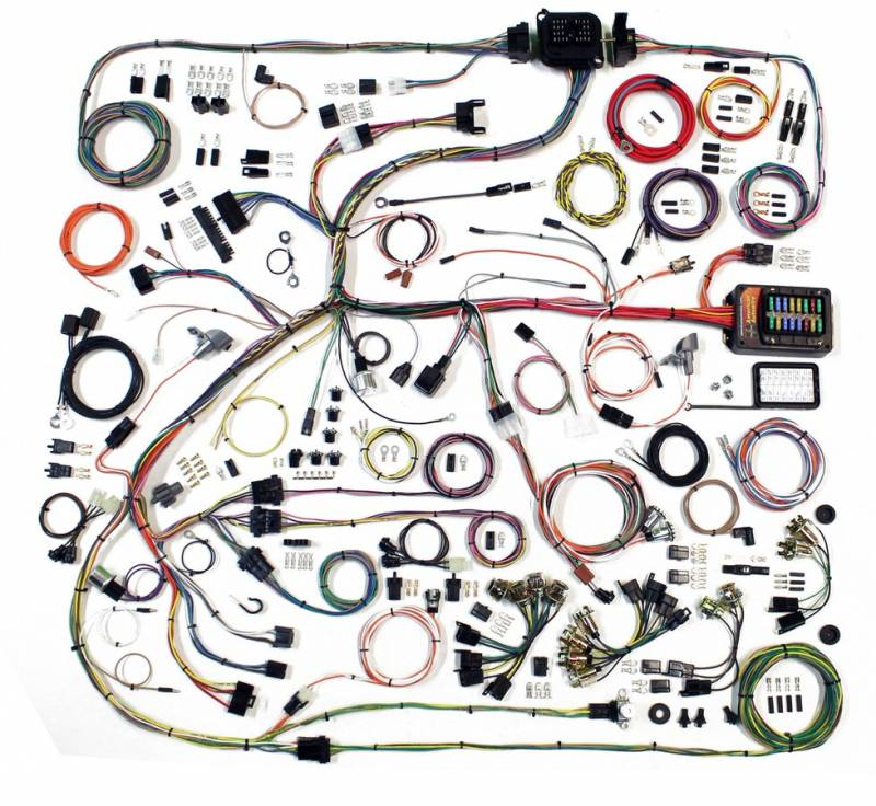 American Autowire Wiring Harness Diagram How To Install A Wiring