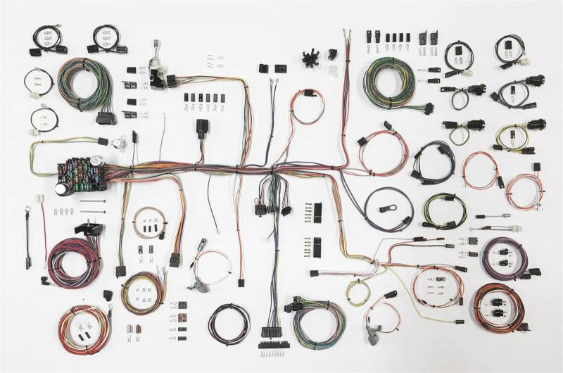 Wiring Harness For Vintage Cars : American autowire classic update complete car wiring