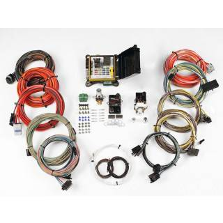 american autowire - american autowire severe-duty complete car wiring  harness complete 22 power outlets