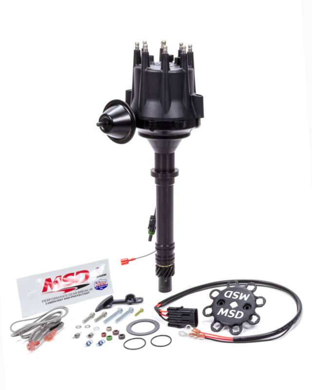 MSD Pro-Billet Distributor Ready-To-Run Magnetic Pickup Vacuum