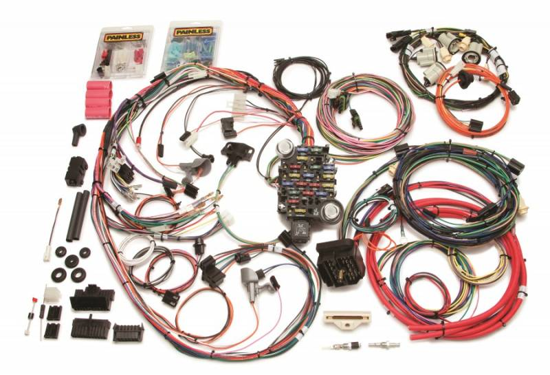 painless performance products direct fit complete car wiring harness rh pitstopusa com