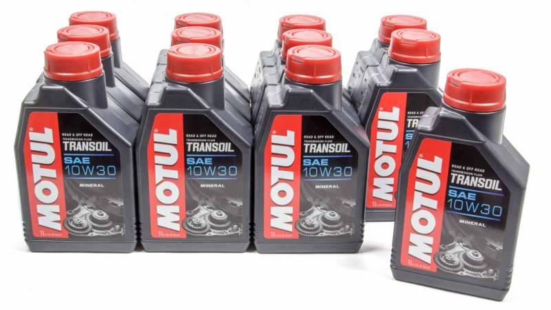 Motul Transoil Motor Oil 10W30 Conventional 1 L - Set of 12