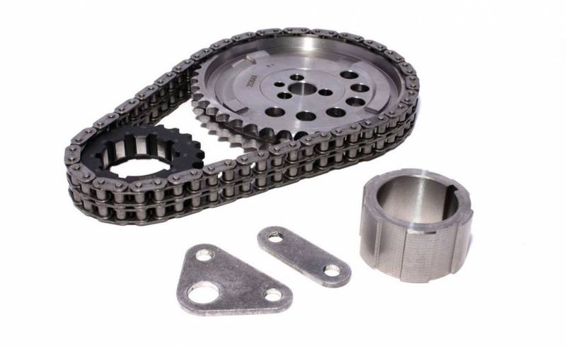 Comp Cams Double Roller Timing Chain Set Keyway Adjustable