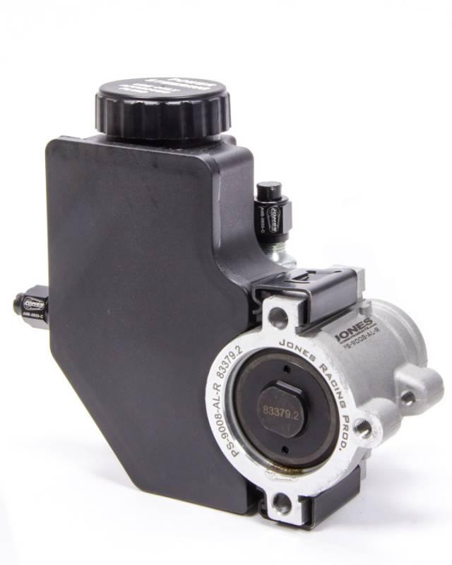 Jones Racing Products Gm Type 2 Power Steering Pump 1100 Psi Plastic Reservoir Aluminum Natural