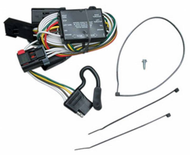 reese hitches t one connector trailer light wiring harness brake rh pitstopusa com Hitch Wiring Harness Kit Honda Hitch Wiring Harness
