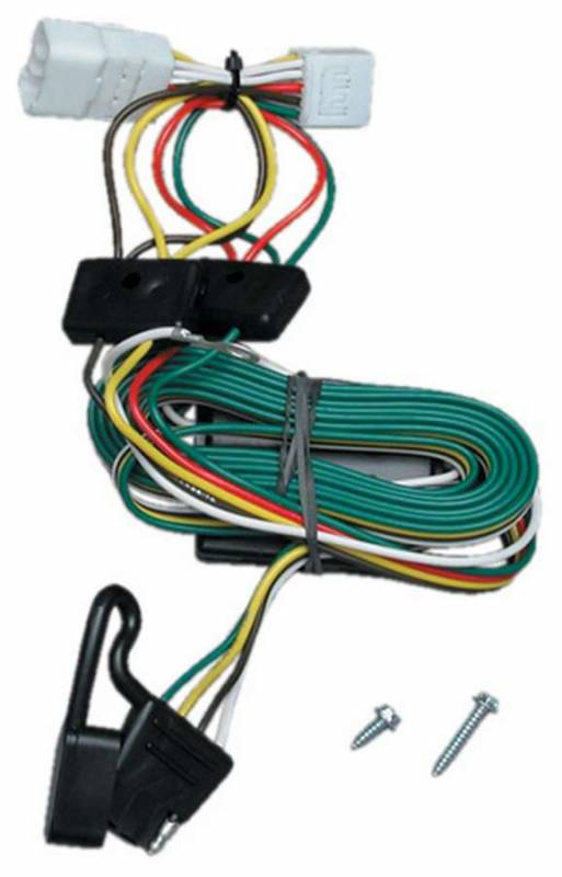 jeep cherokee 1997-2001  reese hitches - reese hitches t-one connector  trailer light wiring harness brake/tail