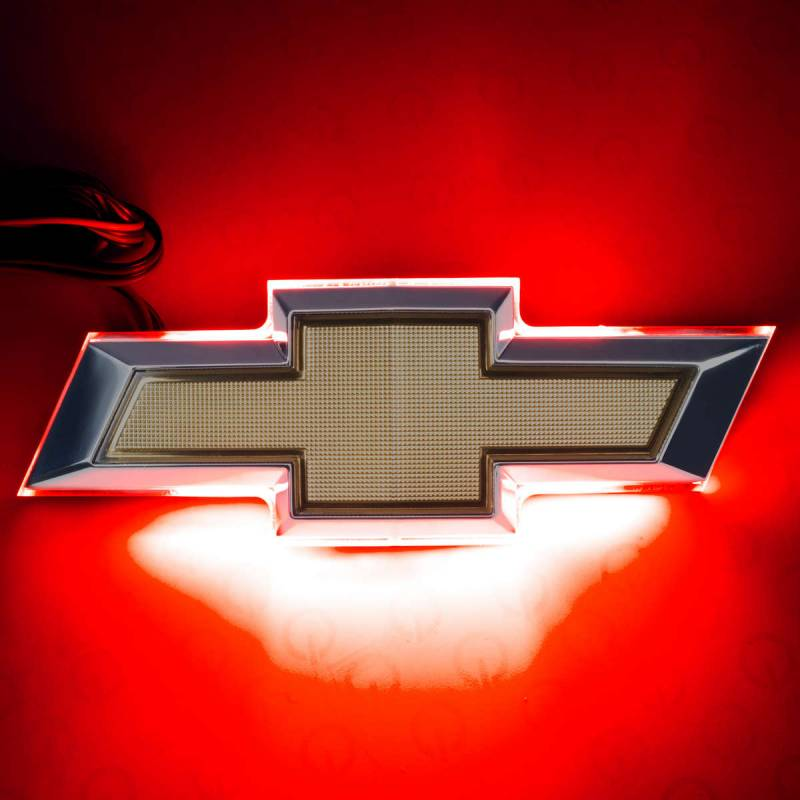 Oracle Lighting Technologies Deck Lid Emblem LED Lighted Chevy Bowtie Red - Kit
