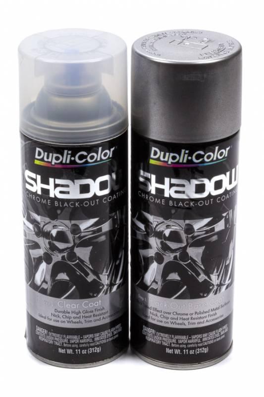 Dupli-Color Shadow Paint Kit 2 Step Coating Black Chrome