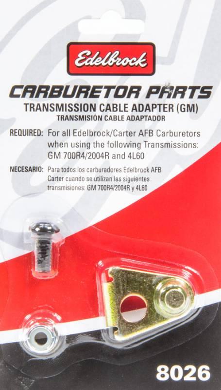 Edelbrock Kickdown Cable Bracket - Edelbrock Carburetor to