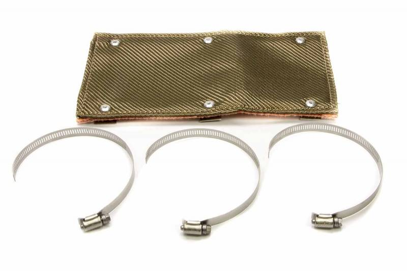 Design Engineering Titanium Pipe Shield Exhaust Heat Shield 6 x 12
