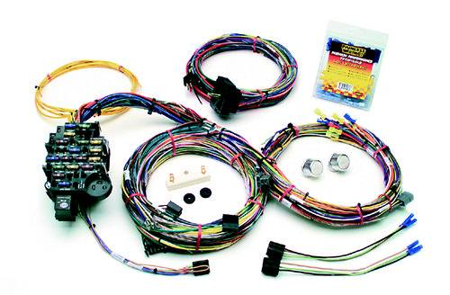 Usa Plus Wiring Harness : Painless performance gm muscle car harness